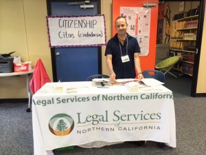photo by Leslie LaytonLegal Services of Northern California assisted with citizenship applications.